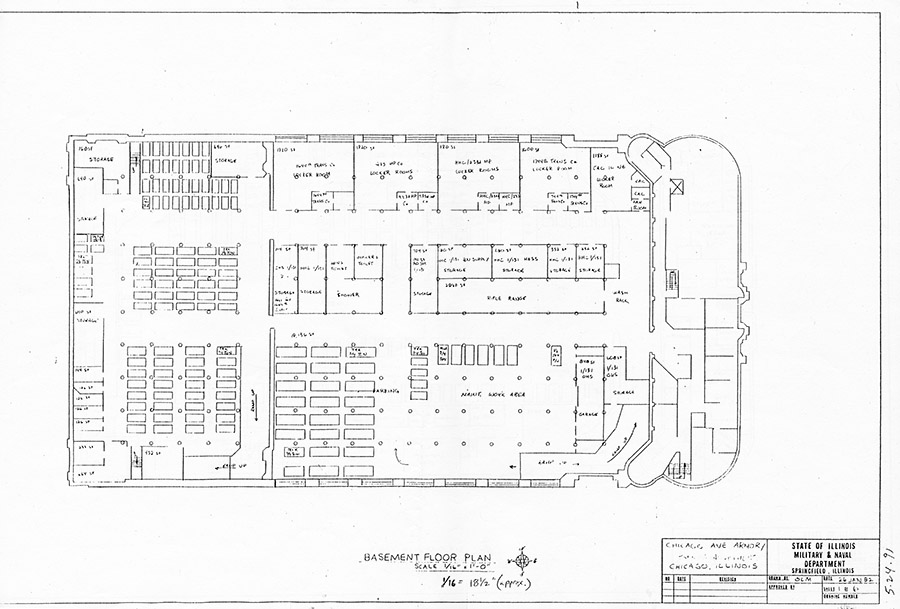 Shifting grounds the armory years ing House plan with basement parking